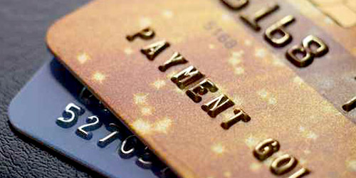 generic credit cards corner header